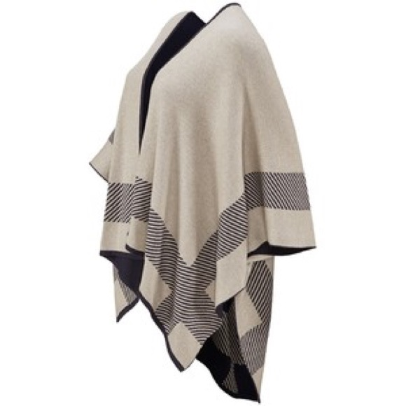 54% off CAbi Sweaters - Reversible CABI poncho from Cathy's closet ...